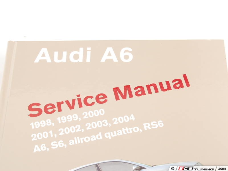 ecs news audi c5 allroad 2 7t 4 2l bentley service manual rh ecstuning com 2001 Audi A6 2.8 Quattro 2001 Audi A6 Quattro Problems