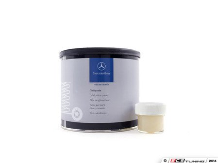 ES#2739877 - 0019894651 - Sunroof Lubricant - Half Ounce  - Genuine Mercedes-Benz sunroof lubricating paste, repackaged for the DIY consumer