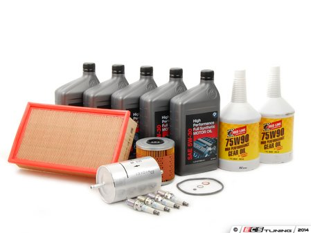 ES#258423 - E30M42IN2 - Inspection 2 Service Kit - Aluminum Filter Housing - Includes all parts required to perform your Inspection 2 service. - Assembled By ECS - BMW