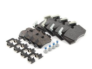 ES#2593919 - 34116789157KT - Brake Pad Kit - Genuine MINI - JCW - Replacement brake pads to restore your stopping power : Front & Rear - Genuine MINI - MINI
