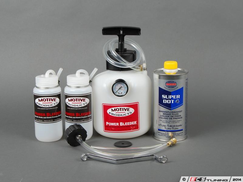 Brake System Flush >> ECS News - Brake Fluid Flush Kits