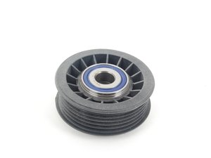 ES#2763499 - 6012000770 - Accessory Belt Idler Pulley - Grooved Pulley On Pulley Bracket - Meyle - Mercedes Benz