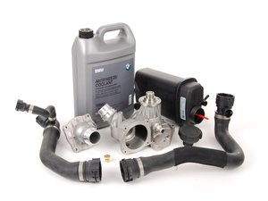 ES#2586824 - 17111741167KT3 - ECS Cooling System Refresh Kit - Level 1 - An entry level cooling refresh kit - with aftermarket components and featuring a Hepu water pump - Assembled By ECS - BMW