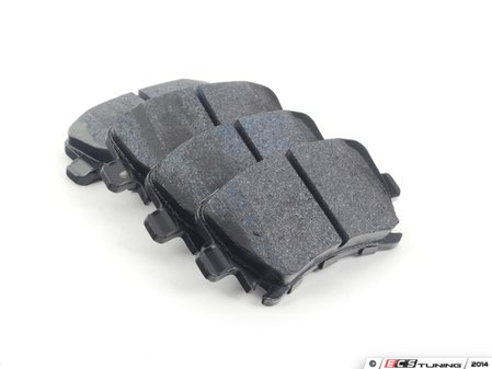 ES#2748627 - HB544B.628 - rear HPS 5.0 Performance Brake Pad Set - Next generation high performance street brake pad offering greater stopping power and pedal feel, with very low dust and noise - Hawk - Audi Volkswagen