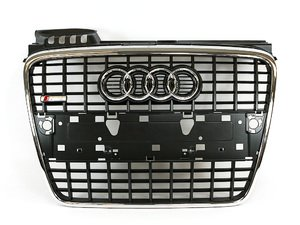 ES#2081153 - 8E0853651M1QP - S-Line Grille Assembly - Grey - Clean up or change your look - Genuine Volkswagen Audi - Audi