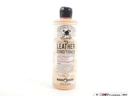 ES#2763565 - SPI40116 - Pure Leather Conditioner - 16oz - The perfect follow up to the leather cleaner for warm and inviting leather seats - Chemical Guys - Audi BMW Volkswagen Mercedes Benz MINI Porsche