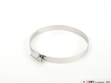 """ES#2730256 - 003402ECS05A-13 - 1/2""""/12mm Band Hose Clamp - 90-110mm - German-style 304 stainless hose clamp - ECS - BMW"""