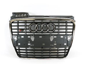 ES#2081148 - 8E0853651K1RR - S4 Grille Assembly - Grey - Clean up or change your look - Genuine Volkswagen Audi - Audi