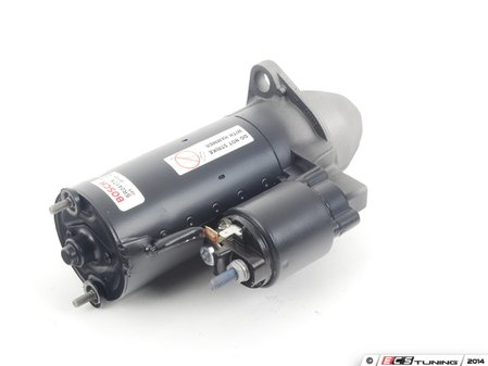 ES#2535540 - 077911023EXKT1 - Remanufactured Starter - Includes a $57 refundable core charge - Bosch - Audi