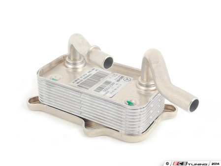 ES#1636663 - 1121880401 - Engine Oil Cooler Assembly - At Oil Filter Housing - Genuine Mercedes Benz - Mercedes Benz
