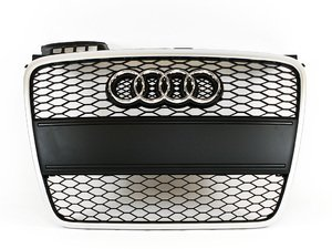 ES#6645 - 8e0898004 - RS4 Grille Kit - With Black Plate Filler - Clean up or change your look - Genuine Volkswagen Audi - Audi