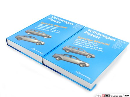 ES#3040 - VP05 - VW B5 Passat (98-05) Service Manual - A comprehensive must-have for any do-it-yourselfer! Includes 1,872 pages of maintenance, service, and repair information in a two book set! - Bentley - Volkswagen