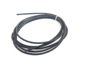 ES#2765742 - N203531-5 -  Cloth Braided Fuel/Vacuum Hose - Black - 5 Meter - Replace your cracked or frayed fuel or vacuum lines. 3.5mm ID - Rein - Audi BMW Volkswagen Mercedes Benz MINI Porsche