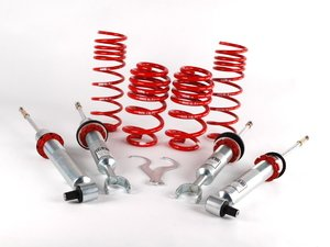 """ES#1120 - 29990-3 - Street Performance Coilover Kit - Unrivaled comfort and performance. Average lowering of 1.6""""-2.5""""F 1.3""""-2.0""""R - H&R - Audi"""