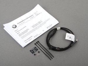 ES#194847 - 82110149391 - Auxiliary Input Retrofit Kit - This wiring kit allows you to play your iPod or other MP3 players through your BMW sound system. For vehicles with navigation. - Genuine BMW - BMW