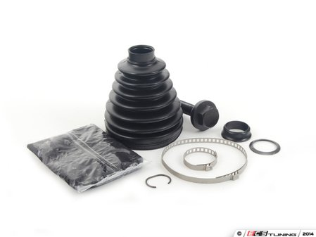ES#2763474 - 1K0498203A - Outer CV Boot Kit - Priced Each - Stop losing CV grease and extend axle joint life - Empi - Audi Volkswagen