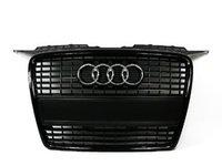 ES#6640 - 8p4898000 - Blackout Grille Assembly With All Black Plate Filler Kit - Direct bolt on all black grille assembly for your A3, Comes with all black plate filler - Genuine Volkswagen Audi - Audi
