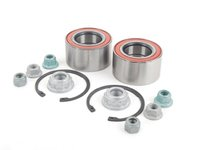 ES#2765565 - 1J0498625KT2 - Front Wheel Bearing Kit - Includes both front wheel bearings with installation hardware - FAG - Audi Volkswagen