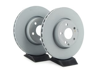 ES#2609023 - 2044210812KT4 - Front Brake Rotors - Pair - Includes left and right front brake rotors - Genuine Mercedes Benz - Mercedes Benz