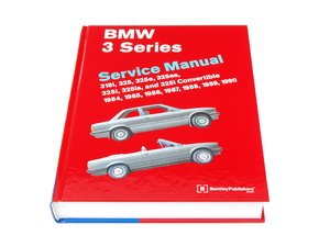 ES#2074645 - B390 - BMW e30 3 Series (1984-1991) Service Manual - A comprehensive must-have for any do-it-yourselfer! Includes 560 pages of maintenance, service, and repair information! - Bentley - BMW