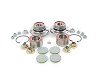 ES#2765568 - 1J0501477AKT1 - Wheel Bearing Kit - All the parts you need to replace all four wheel bearings - Assembled By ECS - Audi Volkswagen