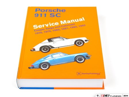 ES#1941502 - P983 - Porsche 911 SC (1978-1983) Service Manual - A comprehensive must-have for any do-it-yourselfer! Includes 704 pages of maintenance, service, and repair information! - Bentley - Porsche