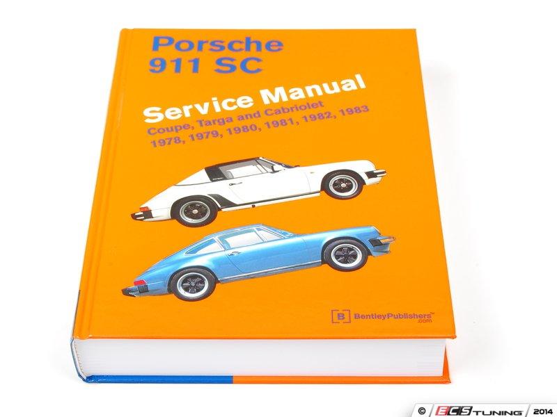 ecs news bentley service manuals for your porsche 911 sc. Black Bedroom Furniture Sets. Home Design Ideas