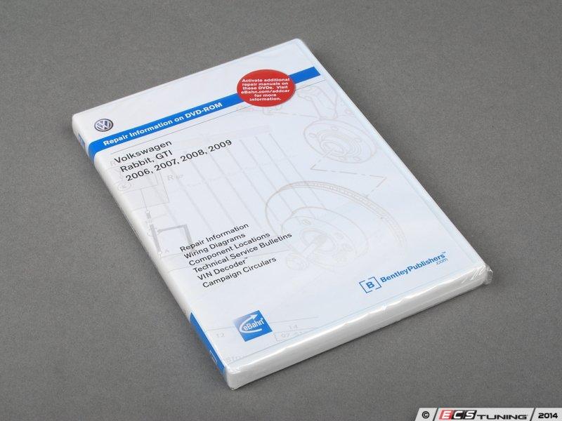 bentley vag6 mkv gti rabbit 06 09 dvd rom service manual es 7071 vag6 mkv gti rabbit 06 09 dvd