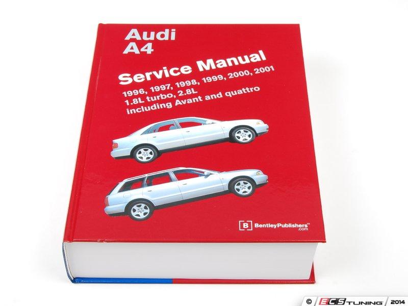 2001 Audi A4 Service Manual
