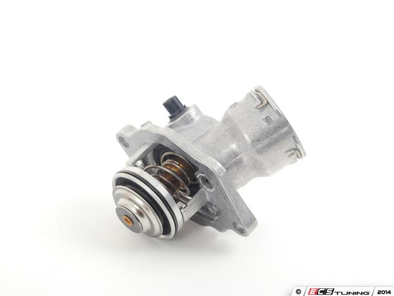 Ecs news mercedes benz w211 e350 thermostat replacement kits for Mercedes benz thermostat