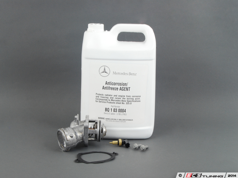 Ecs News Mercedes Benz W204 C Class Thermostat