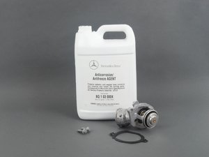 ES#2763502 - 2722000415KT - Thermostat Replacement Kit - Includes thermostat, coolant and hardware - Genuine Mercedes Benz - Mercedes Benz