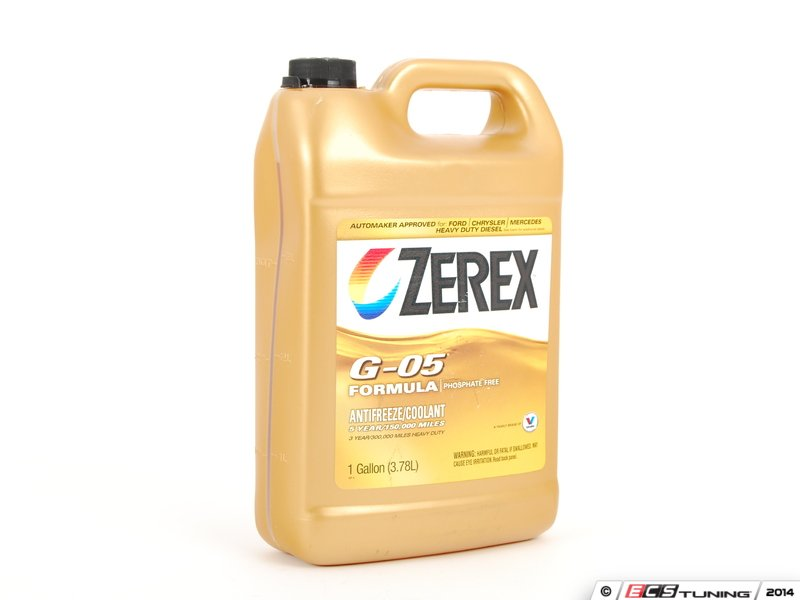 Zexex Zxg051 Coolant Antifreeze 1 Gallon