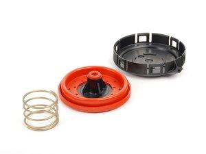 ES#18560 - 11127547058 - Pressure Regulator Valve Repair Kit - Includes new cap, gasket, and spring - Genuine BMW - BMW