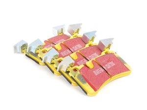 ES#2070854 - DP41839R - Rear Yellowstuff Performance Brake Pad Set - A race-quailty pad that can be used at the track and back home again - EBC - Mercedes Benz