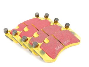 ES#521033 - DP41939R - Front Yellowstuff Performance Brake Pad Set - A race-quailty pad that can be used at the track and back home again - EBC - Audi Mercedes Benz