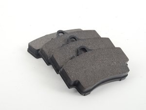 ES#2581202 - D8738OC - Rear Brake Pad Set - Ceramic brake pads - OP Parts - Porsche