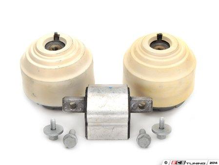 ES#2763257 - 2032402017KT1 - Drivetrain Mount Kit - Includes both Lemforder engine mounts and Lemforder transmission mount with hardware - Assembled By ECS - Mercedes Benz