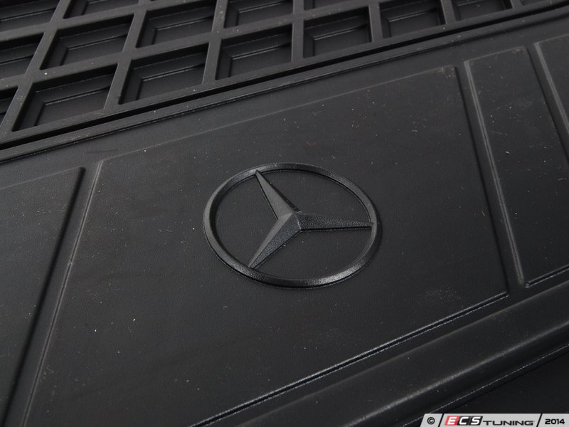 genuine mercedes benz 22268044489g33 all season floor mats black. Cars Review. Best American Auto & Cars Review