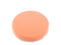 "ES#2626156 - 493000 - 160mm/6.3"" orange Polishing Pad - Medium  - Finely pored for machine polishing - SONAX - Audi BMW Volkswagen Mercedes Benz MINI Porsche"