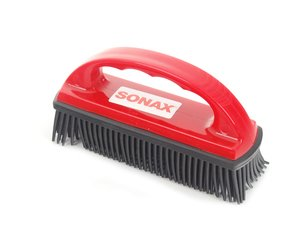 ES#2765817 - 491400 - Pet Hair Brush - An easy way to remove pet hair from upholstery - SONAX - Audi BMW Volkswagen Mercedes Benz MINI Porsche