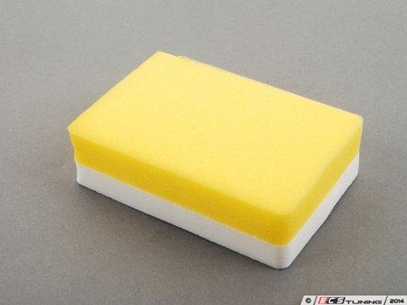 ES#2626133 - 417300 - Application Sponge - Finely poured yellow sponge with a white grip - SONAX - Audi BMW Volkswagen Mercedes Benz MINI Porsche