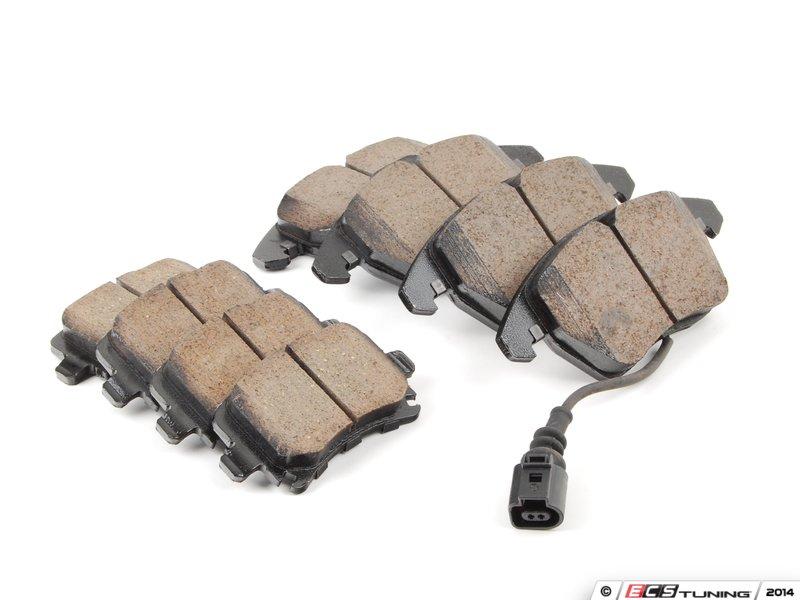 Akebono Eur1107kt Front Amp Rear Euro Ceramic Brake Pad Kit
