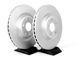 ES#2215358 - 8K0698301MKT2 - Front Brake Rotors - Pair (345x30) - Featuring a protective Platinum coating - Meyle - Audi