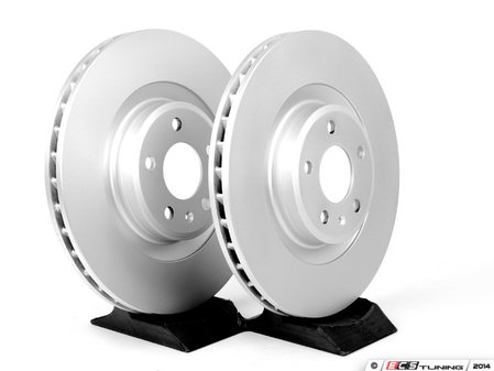 ES#4350039 - 4H0615601HKT1 - Front & Rear Brake Service Kit - Featuring Meyle rotors, StopTech pads, and all required hardware - Assembled By ECS - Audi