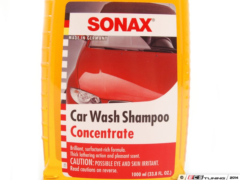 sonax 314300 car wash shampoo concentrate 1 liter. Black Bedroom Furniture Sets. Home Design Ideas