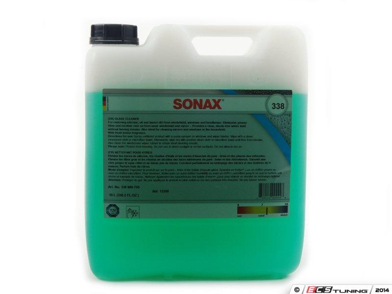 sonax 338600 glass cleaner 10 liter. Black Bedroom Furniture Sets. Home Design Ideas