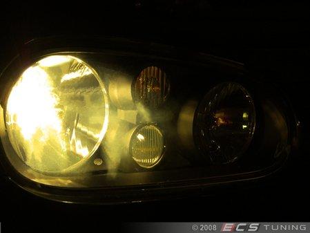 ES#8757 - ZZBS9006BSPYA - HB4/9006 Pure Yellow Halogen Bulb - Pair - Similar to 3000k HID color, increase intensity & visual appeal - ZiZa - BMW Volkswagen Mercedes Benz
