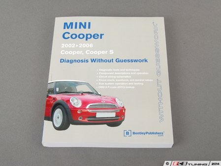 ES#2762795 - BMD6 - MINI R50 R53 Cooper, Cooper S, JCW (2002-2006) Service Manual: Diagnosis Without Guesswork - A comprehensive must-have for any do-it-yourselfer! Includes pages 336 pages of engine management and on-board system diagnosis. - Bentley - MINI