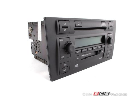 ES#365825 - 4B0035195J - Symphony II Radio - In Dash 6 CD Changer (NO LONGER AVAILABLE) - Remanufactured radio from Audi with built-in 6 CD changer & cassette player - Genuine Volkswagen Audi -